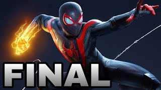 Marvels Spider-Man Miles Morales ao vivo#03(FINAL)