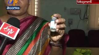 Two Staff Nurse Suspended   in Expiry Injection Incident Gandhi Hospital   DMR Ramani  