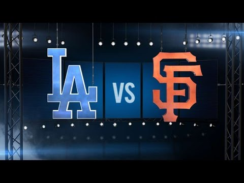 6/10/16: Dodgers top Giants behind Turner, Kershaw