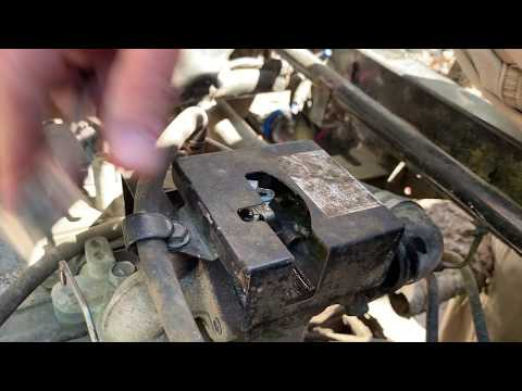 Mule 2510 Sticking Throttle Fix