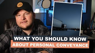 What you need to know about DOT personal conveyance