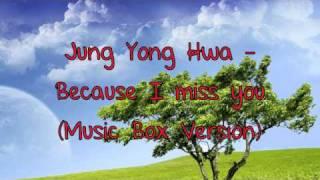 Jung Yong Hwa - Because I Miss You (Music Box Version)