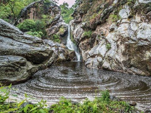 Salto y Pozo del Gaucho en La Merced, Catamarca, Argentina