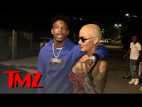 21 Savage, I've Dated Amber Rose Way Longer than You Know | TMZ