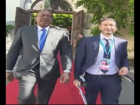 Kenyatta tells G7 leaders to support African solutions