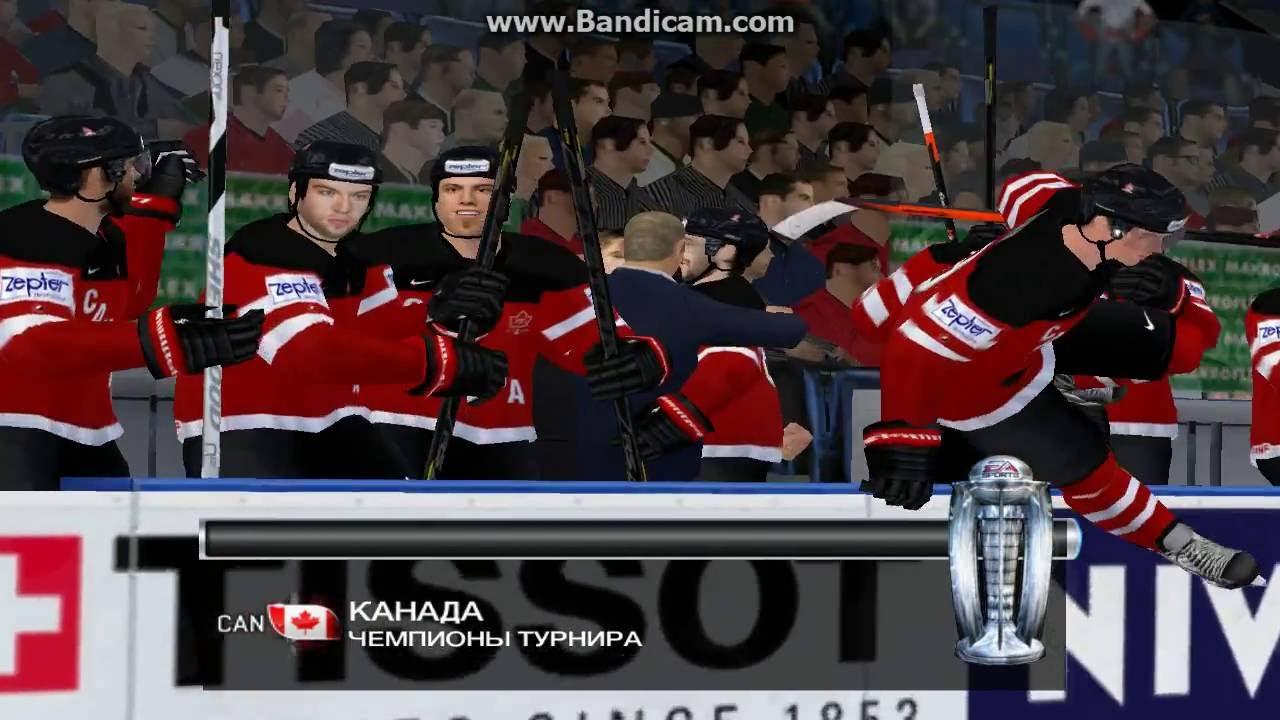 хоккей онлайн канада россия