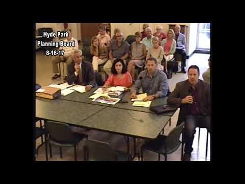 Hyde Park Planning Board 8-16-17