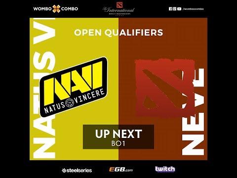 Natus Vincere vs Neve  The International 8  CIS Open Qualifiers #2