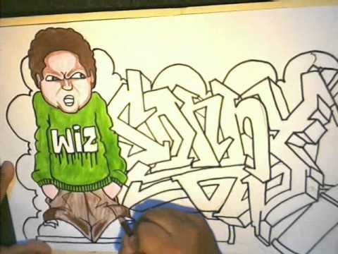 A Quick Graffiti Drawing (Requested) By (SONNY) by WIZARD (speed ...