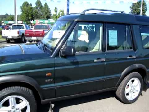 2001 Land Rover Discovery Series Ii Se7 10236 Mpg Youtube