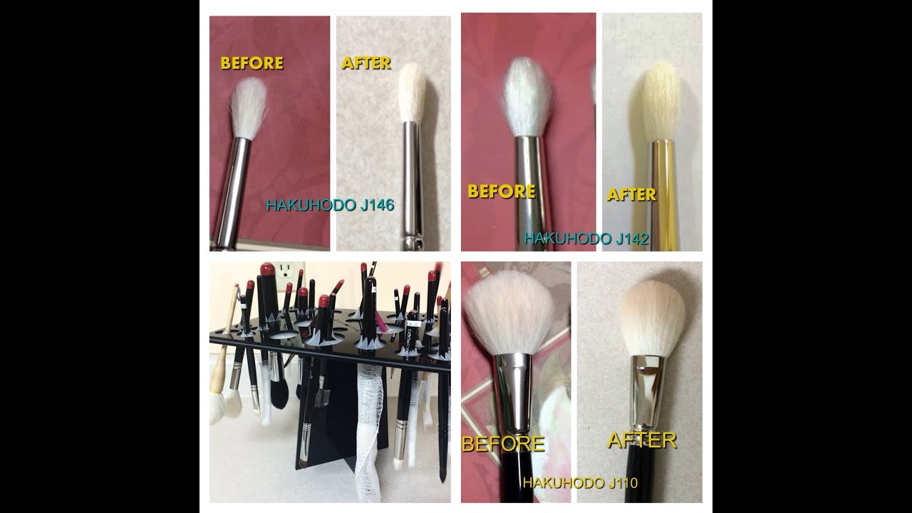 diy brush guard how to clean makeup brushes youtube. Black Bedroom Furniture Sets. Home Design Ideas