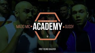 Magic Mic Vs Gussy | Academy18 | Rap Battle