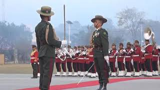 a Guard of Honor to Pakistani PM in Nepal