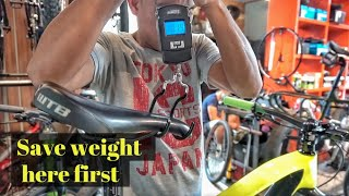 8 HELPFUL TIPS TO MAKE YOUR BIKE LIGHTER