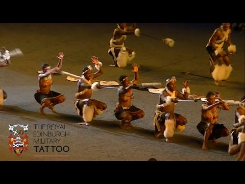 Edinburgh Tattoo 2014 - Zulu Warriors of South Africa