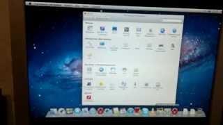 Первый запуск Mac OS X Lion 10.7.3 в VMware .mp4(Первый запуск мака на интеле в виртуалке с оперативкой 1Гх....Конечно тормозит но это только начало и я полон..., 2012-04-14T19:38:36.000Z)