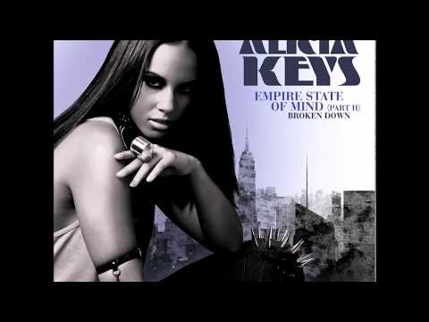 ALICIA KEYS - EMPIRE STATE OF MIND - WITH LYRICS