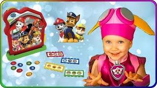 Тома и Игрушки Щенячий Патруль. Настольная игра Щенячий Патруль Дог Хаус Бинго. Видео для детей