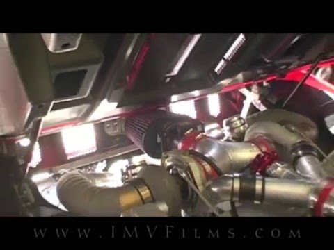 Twin Turbo Ford GT Supercar - IMV Films