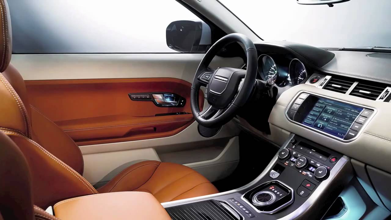 2011 range rover evoque interior youtube. Black Bedroom Furniture Sets. Home Design Ideas