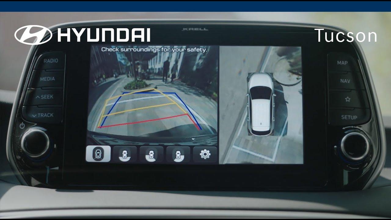 New Hyundai Tucson Surround View Monitor 3 4 Youtube