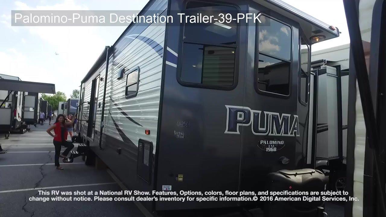 nouveau concept 2206f c4e7c Palomino-Puma Destination Trailer-39-PFK