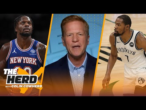 Ric Bucher on Kevin Durant's legacy, Julius Randle, Milwaukee Bucks as contenders | NBA | THE HERD