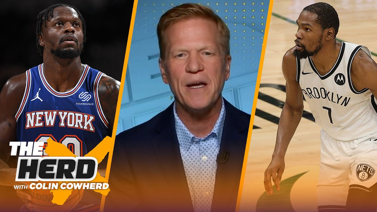 Ric Bucher on Kevin Durant's legacy, Julius Randle, Milwaukee Bucks as contenders | NBA | THE HERD