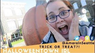 Halloween Disney Movie Irl | Halloweentown Lifestyle Adventure | Amara In Seattle | CC