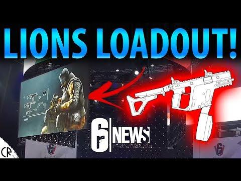 Lions Full Loadout! - Operation Chimera - 6News - Tom Clancy's Rainbow Six Siege