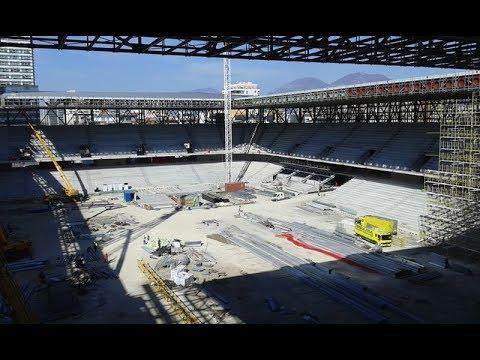 Stadiumi Arena Kombetare punohet me ritem - ShqipStadium