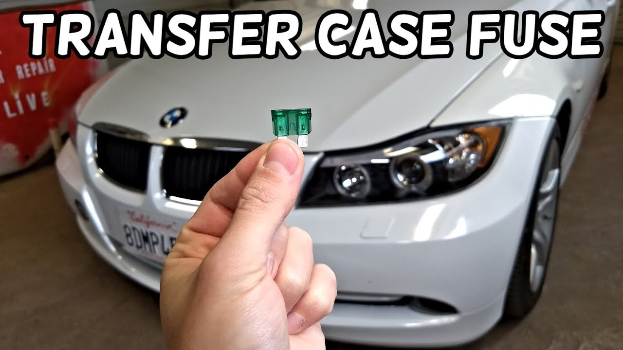 transfer case fuse location bmw e90 e91 e92 e93 [ 1280 x 720 Pixel ]