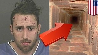 Parkour fail: Man plunges 40 feet down chimney trying to film a parkour video - TomoNews