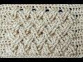 Crochet   Punto Entrecruzado Plano