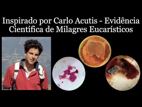 Inspirado por Carlo Acutis - Evidência Científica de Milagres Eucarísticos (Portugese)
