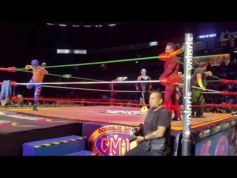 Mexican Wrestling in Mexico City Part 1