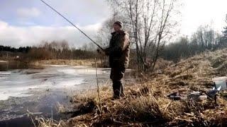 Рыбалка ранней весной на фидер