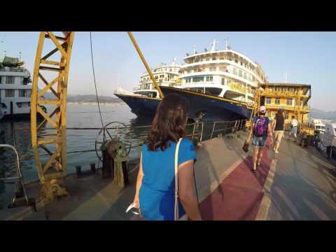 4 Night Yangtze River Cruise 2017 In China Part 1