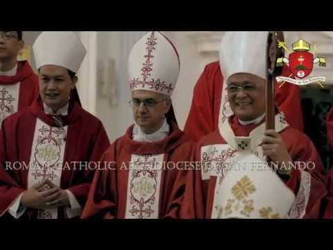 Imposition of Pallium - Most Rev. Florentino G. Lavarias
