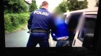 Poliisi ja virolaiset rattijuopot