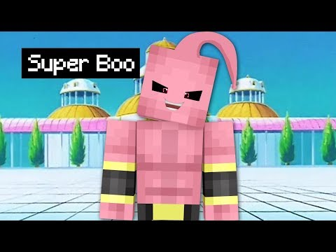 Minecraft Dragon Ball Z #32: A CHEGADA DO SUPER BOO! FIM DA SÉRIE?