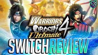 Warriors Orochi 4 Ultimate Switch Review - The Ultimate Musou Experience? (Video Game Video Review)