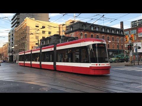 Railfanning Street Cars in Toronto, ON