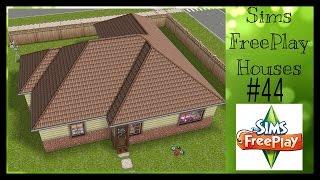 A SIMPLE HOME Sims FreePlay House Idea #44 YouTube
