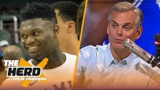 Download Zion Williamson's 6 best landing spots, Colin begs teams to not trade No. 1 pick   NBA   THE HERD Mp3 and Videos