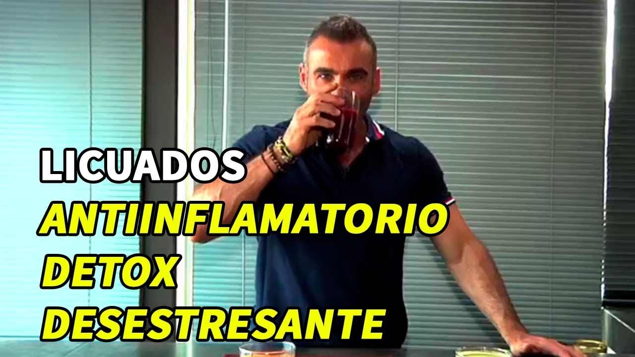 Licuados antiinflamatorio, detox y desestresante. # ...