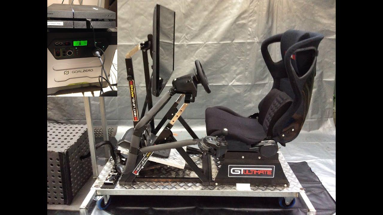 Next Level Racing Gt Ultimate V2 Racing Simulator Rig