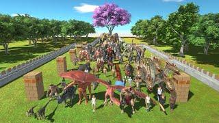 Sakura Forest Faction Army Competition Animal Revolt Battle Simulator