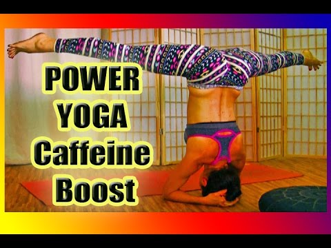 COFFEE CUP Energizing Vinyasa Yoga Class