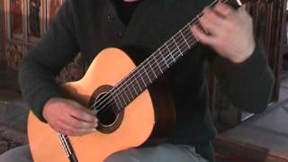 The Dark Island arranged for classical guitar by David Jaggs.
